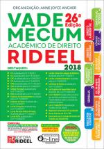 VADE MECUM ACADEMICO DE DIREITO RIDEEL 2018