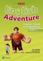 NEW ENGLISH ADVENTURE 3 SB WITH WB - 1ST ED