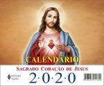 CALENDÁRIO DE MESA DO SAGRADO CORAÇÃO DE JESUS 2020