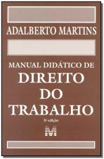 MANUAL DIDÁTICO DE DIREITO DO TRABALHO - 5 ED./2015