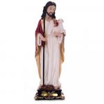 IMAGEM JESUS BOM PASTOR 20CM DE ALTURA