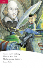 PEARSON ENGLISH READERS 1: MARCEL AND THE SHAKESPEARE LETTERS BOOK AND CD PACK