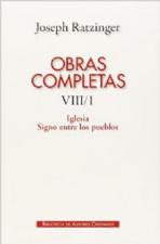 OBRAS COMPLETAS DE JOSEPH RATZINGER VOL.VIII/I - 1ª