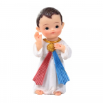 IMAGEM JESUS MISERICORDIOSO INFANTIL 10CM DE ALTURA