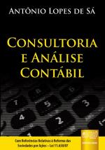 CONSULTORIA E ANÁLISE CONTÁBIL