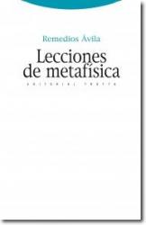 LECCIONES DE METAFISICA - COL. ESTRUCTURAS Y PROCESOS