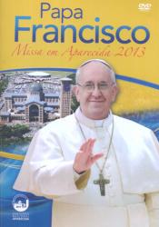 DVD PAPA FRANCISCO - MISSA EM APARECIDA 2013 - 1ª