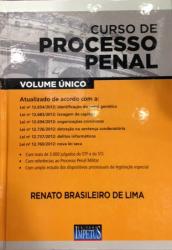 CURSO DE PROCESSO PENAL - VOLUME UNICO