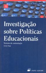 INVESTIGACAO SOBRE POLITICAS EDUCACIONAIS - TERRENO...