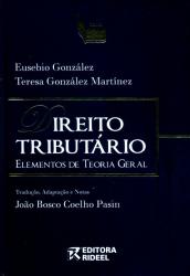 DIREITO TRIBUTARIO ELEMENTOS DE TEORIA GERAL