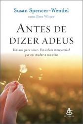 ANTES DE DIZER ADEUS