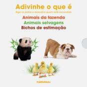 BOX ADIVINHA O QUE É - ANIMAIS DA FAZENDA ANIMAIS SELVAGENS E BICHOS DE ESTIMAÇÃO