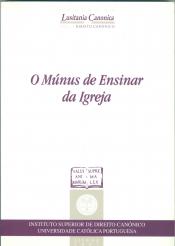 MUNUS DE ENSINAR DA IGREJA, OS - 1