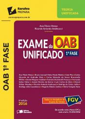 EXAME DA OAB UNIFICADO 1 FASE - TODAS AS DISCIPLINAS DO EXAME DA ORDEM - FGV