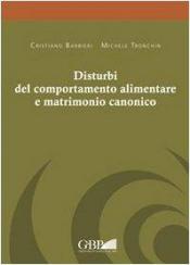 DISTURBI DEL COMPORTAMENTO ALIMENTARE E MATRIMONIO CANONICO
