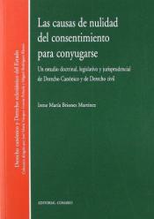 LAS CAUSAS DE NULIDAD DEL CONSENTIMIENTO PARA CONYUGARSE