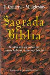 SAGRADA BIBLIA. CANTERA. IGLESIAS