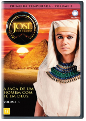 DVD JOSÉ DO EGITO - 1 TEMPORADA - VOLUME 03