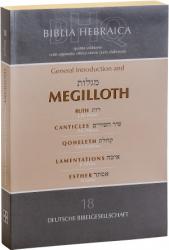 BIBLIA HEBRAICA QUINTA 18 - MEGILLOTH