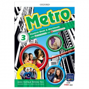 METRO 3 STUDENTS BOOK AND WORKBOOK