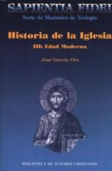 HISTORIA DE LA IGLESIA III - EDAD MODERNA  - 1ª