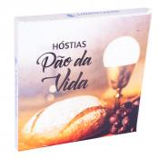 HÓSTIA PÃO DA VIDA 13CM CAIXA COM 10 UNIDADES