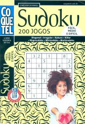 LIVRO SUDOKU - 200 JOGOS Nº 144