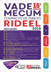 VADE MECUM COMPACTO DE DIREITO RIDEEL 2018