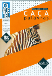CAÇA PALAVRAS - FÁCIL MÉDIO DIFÍCIL (LIVRO3)