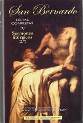 OBRAS COMPLETAS DE SAN BERNARDO IV  - SERMONES LITURGICOS 2 - 2