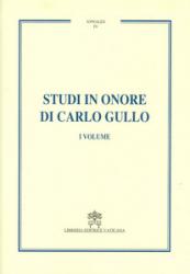 STUDI IN ONORE DI CARLO GULLO - 3 VOLUMES