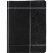 BIBLIA THOMPSON -  CAPA COURO PRETA E CINZA - 1