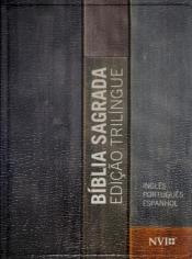 BIBLIA SAGRADA NVI EDIÇAO TRILINGUE