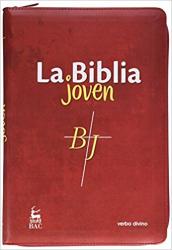 LA BIBLIA JOVEN - ENCUADERNACIÓN SÍMIL PIEL CON CREMALLERA