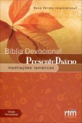 BIBLIA DEVOCIONAL - PRESENTE DIARIO - POPULAR FOLHAS VIVAS NVI - 1ª