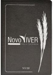 BIBLIA SAGRADA NOVO VIVER - NVI LUXO CINZA - 1ª