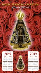 FOLHINHA NOSSA SENHORA APARECIDA 2019 - ROSAS