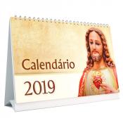 CALENDÁRIO DE MESA 2019 - FÉ E DEVOÇÃO