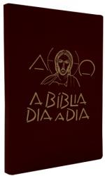 BÍBLIA DIA A DIA 2019 - LUXO - VINHO