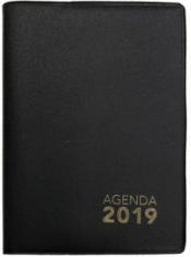 AGENDA DE BOLSO 2019 - PRETA