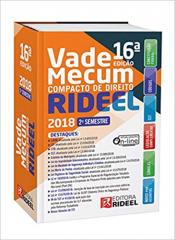 VADE MECUM COMPACTO DE DIREITO - 2 SEMESTRE 2018