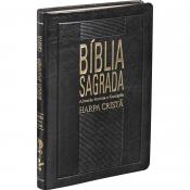 BÍBLIA SLIM HARPA GRANDE LUXO AZUL