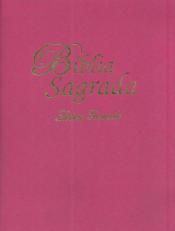 BÍBLIA SAGRADA LETRA GRANDE ROSA
