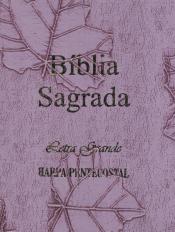 BÍBLIA SAGRADA LETRA GRANDE COM HARPA LILÁS
