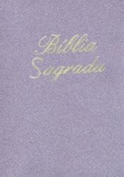 BÍBLIA SAGRADA PEQUENA LILÁS ZIPER