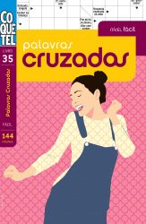 PALAVRAS CRUZADAS - NÍVEL FÁCIL - LIVRO 35