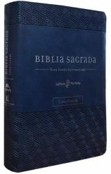 SUA BÍBLIA - LETRA GRANDE - CAPA AZUL