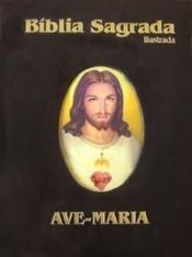 BIBLIA SAGRADA AM ILUSTRADA PRETA - 1ª