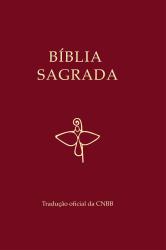 BÍBLIA SAGRADA CAPA VINHO TRADUÇÃO OFICIAL DA CNBB