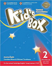 KIDS BOX LEVEL 2 WORKBOOK WITH ONLINE RESOURCES AMERICAN ENGLISH- SECOND EDITION